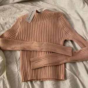 Kendall & Kylie Knit Long Sleeve Top
